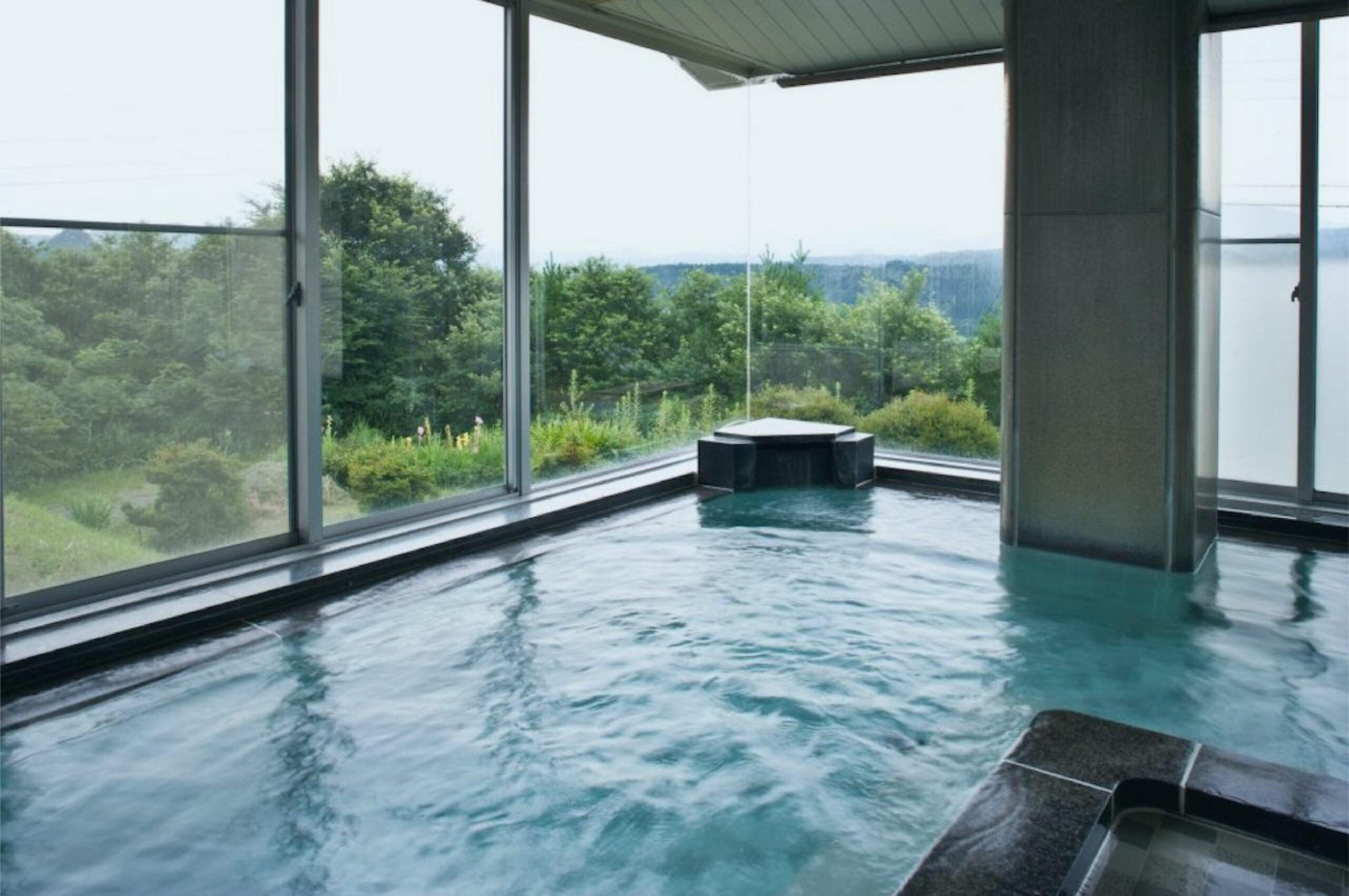 清川高原保養センターの温泉